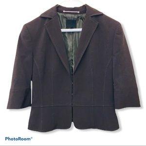NWOT VINTAGE The limited brown blazer suit jacket